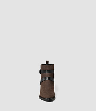 Damen Newton Cross Strap Boot (Cognac) - product_image_alt_text_2