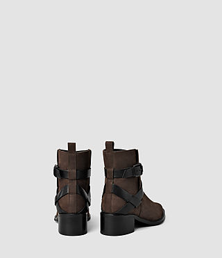 Damen Newton Cross Strap Boot (Cognac) - product_image_alt_text_3