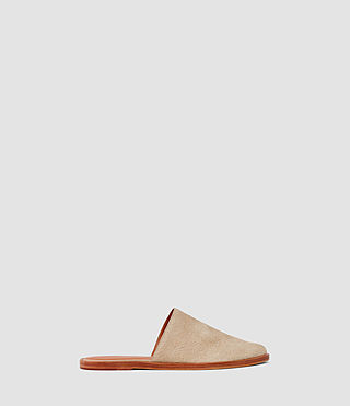 Damen Rick Slip On Sandal (Sand) -