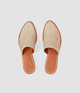 Damen Rick Slip On Sandal (Sand) - product_image_alt_text_4