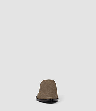 Womens Rick Slip On Sandal (Dark Khaki) - product_image_alt_text_2