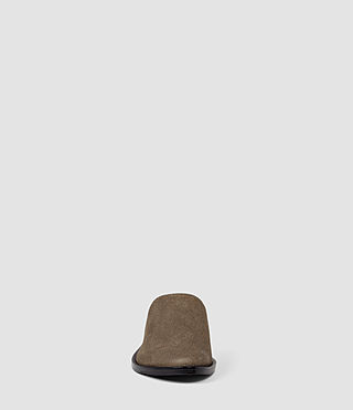 Femmes Rick Slip On Sandal (Dark Khaki Green) - product_image_alt_text_2