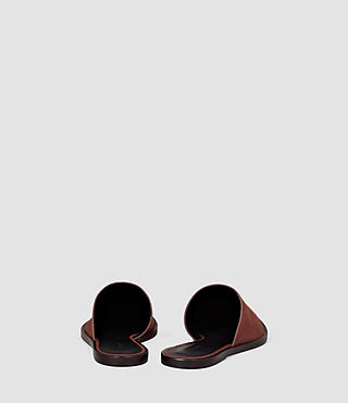 Femmes Rick Slip On Sandal (BRICK BROWN) - product_image_alt_text_3