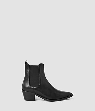 Womens Mendip Chelsea Boot (Black)