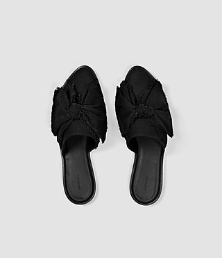 Womens Rumour Slip On Shoe (Washed Black) - product_image_alt_text_4