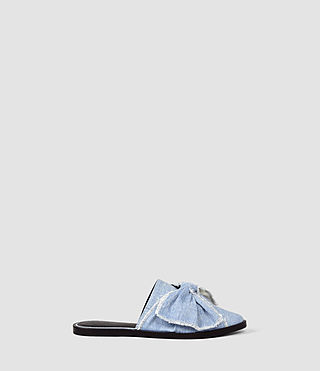 Womens Rumour Slip On Shoe (Light Blue)