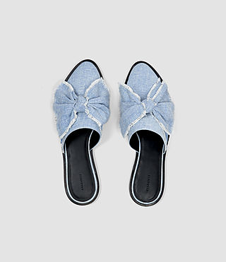Femmes Rumour Slip On Shoe (Light Blue) - product_image_alt_text_4