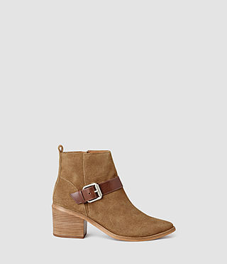 Womens Jason Heel Boot (Cognac)