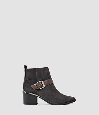 Damen Jason Heel Boot (Dark Grey)