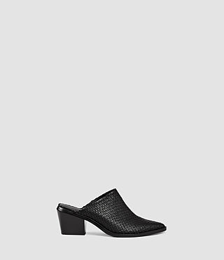 Womens Jade Slip On Shoe (Black)