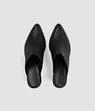 Womens Jade Slip On Shoe (Black) - product_image_alt_text_4