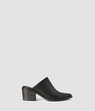 Womens Jackson Heel (Black)
