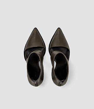 Damen Theo Heel (Dark Khaki Green) - product_image_alt_text_4