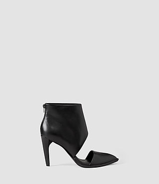 Womens Theo Heels (Black)