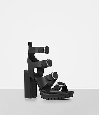 Mujer Osuna Sandal (Black) - product_image_alt_text_2