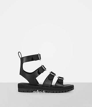 Womens Raquel Sandal (Black)