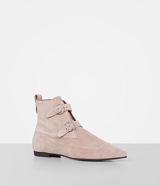 Mujer Viv Suede Boot (SEPIA PINK) - product_image_alt_text_2