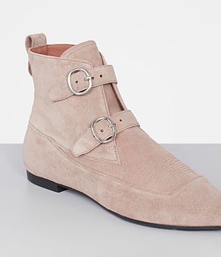 Mujer Viv Suede Boot (SEPIA PINK) - product_image_alt_text_3