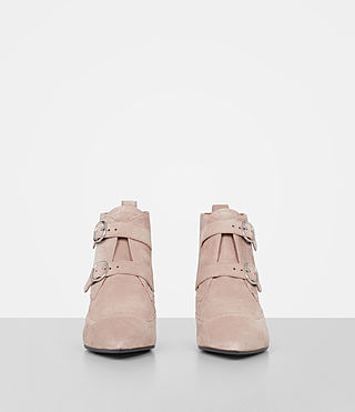 Mujer Viv Suede Boot (SEPIA PINK) - product_image_alt_text_4