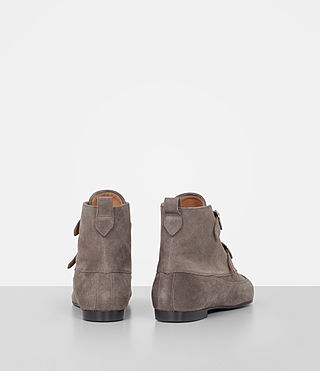 Women's Viv Suede Boot (WOOD BROWN) - product_image_alt_text_5