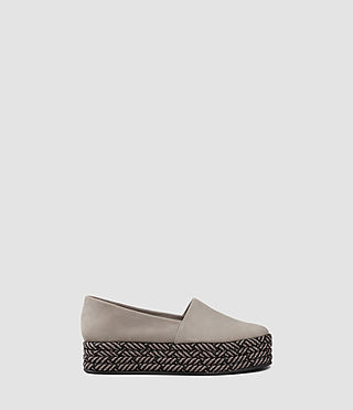 Womens Bora Slip On Shoe (Mid Grey)