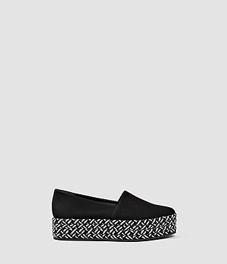 Womens Bora Slip On Shoe (Black) - product_image_alt_text_1