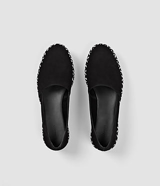 Mujer Bora Slip On Shoe (Black) - product_image_alt_text_4