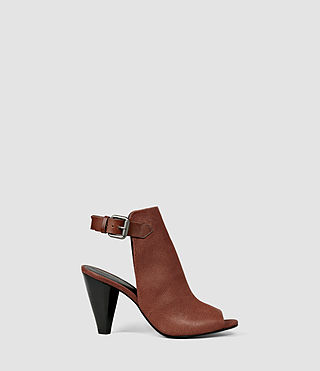 Womens Branson Heel (BRICK BROWN)