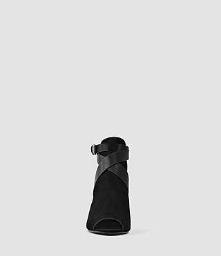 Mujer Benny Heel Sandal (Black) - product_image_alt_text_2