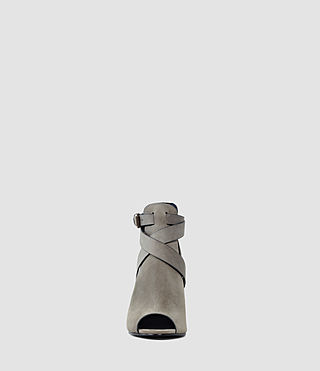 Womens Benny Heel Sandal (Dark Grey) - product_image_alt_text_2