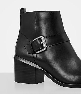 Women's Jason Heel Boot (SHINY BLACK) - product_image_alt_text_2