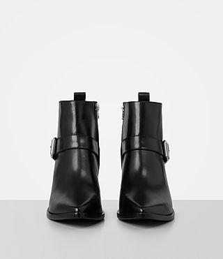 Women's Jason Heel Boot (SHINY BLACK) - product_image_alt_text_4