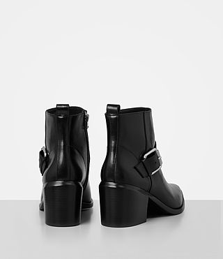 Womens Jason Heel Boot (SHINY BLACK) - product_image_alt_text_5