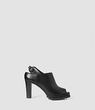 Womens Hathaway Heel (Black)