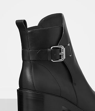 Mujer Meera Ankle Boot (Black) - product_image_alt_text_2
