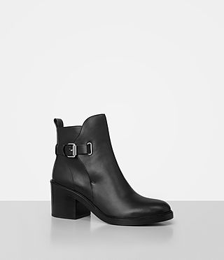 Women's Meera Ankle Boot (Black) - product_image_alt_text_3