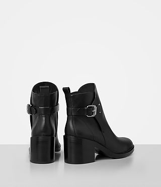 Women's Meera Ankle Boot (Black) - product_image_alt_text_5