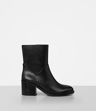 Womens Macarthur Chain Boot (Black) - product_image_alt_text_1