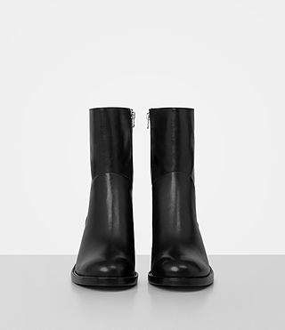 Womens Macarthur Chain Boot (Black) - product_image_alt_text_4