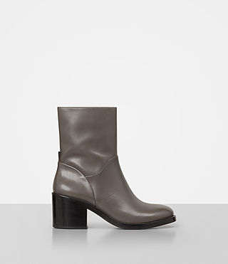 Donne Macarthur Chain Boot (Dark Grey)