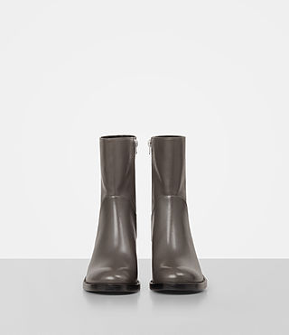 Women's Macarthur Chain Boot (Dark Grey) - product_image_alt_text_4