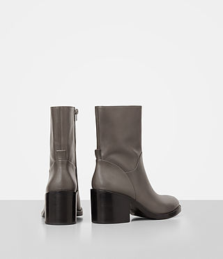 Women's Macarthur Chain Boot (Dark Grey) - product_image_alt_text_5