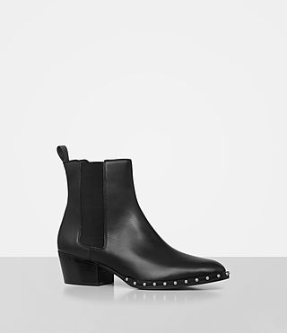 Women's Ellis Chelsea Boot (Black) - product_image_alt_text_3