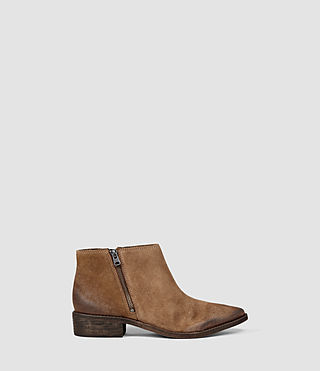 Womens Yuree Mid Boot (Cognac)