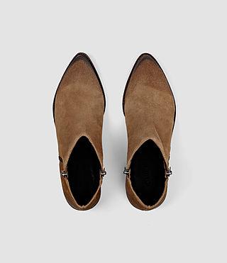 Womens Yuree Mid Boot (Cognac) - product_image_alt_text_4