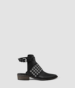 Womens Yannis Shoe (Black)