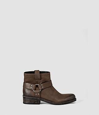 Femmes Obert Boot (Chocolate)