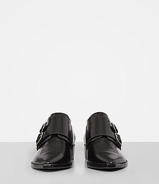 Mujer Botas Silva Monk (Black) - product_image_alt_text_4