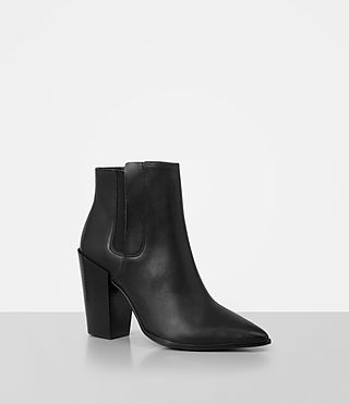 Women's Senta Ankle Boot (Black) - product_image_alt_text_3