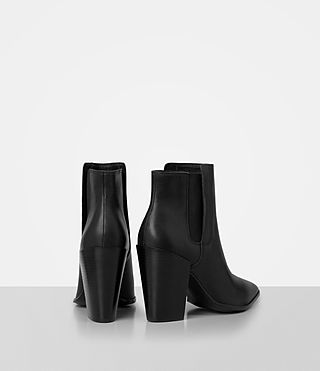 Women's Senta Ankle Boot (Black) - product_image_alt_text_5